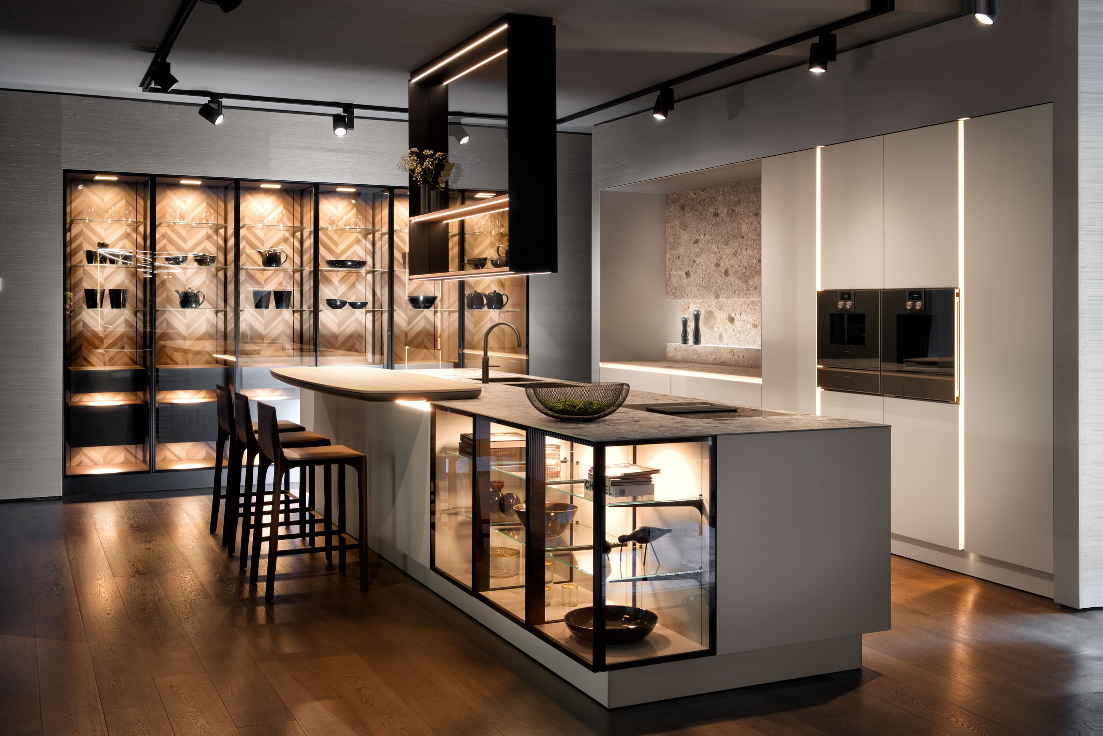 The New Handle Free Siematic Arena Kitchens